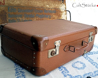 Vintage Small fine 50s Suitcase (2)