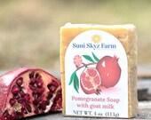 Pomegranate Goat Milk Soa...