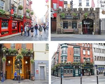 Ireland, Ireland Photography, Ireland Pub Decor, Ireland Pubs Print Set Photography Print Irish Bar Photographs Ireland Wall Art Wall Decor