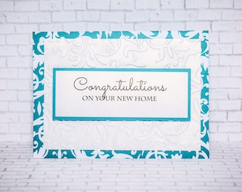 New Home, Housewarming Card, New Home Card, Housewarming Card, Congratulations, Congrats, Congrats New House, New House Card, New House