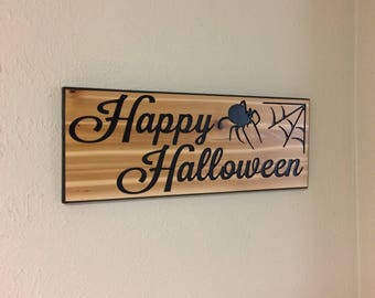 halloween decor, halloween sign