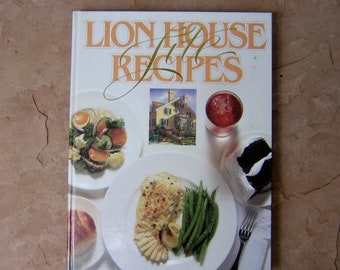 Jacques pepin todays gourmet cookbook light and healthy lion house lite recipes compiled by melba davis lion house restaurant cookbook 1996 vintage forumfinder Gallery
