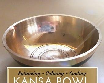 Ayurvedic Kansa Bowl for Healing Foot-Massage