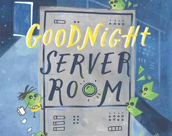 Goodnight Server Room (Board Book)