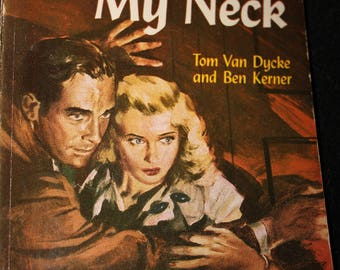 vintage sleaze paperback book not with my neck 1948 noir mystery rare handi book