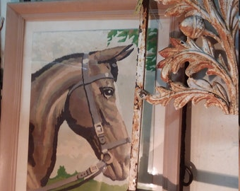 Nice paint by number of horse!