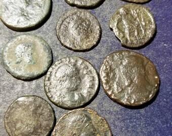 1 Worn Ancient Roman Coin