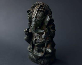Vintage Soapstone Ganesh