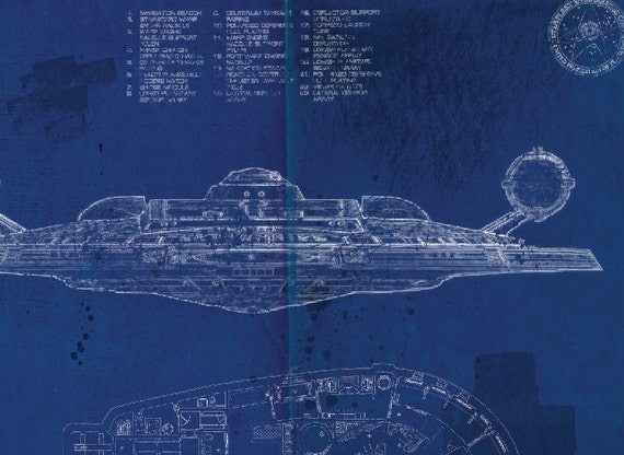 Star trek enterprise nx 01 blueprint art print a2 420mm594 star trek enterprise nx 01 blueprint art print a2 420mm594 or 165 234 malvernweather Gallery
