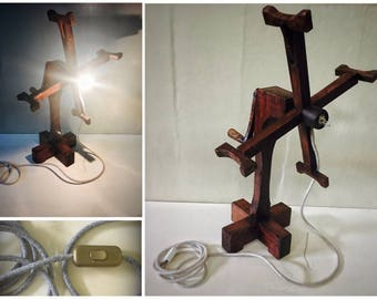 Yarn winder lamp