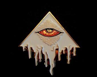 Eye of Decadence pin