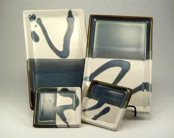 Sushi / Wasabi Plates (2 each)     #4417