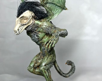 Ghoul Homunculus OOAK, Full Color