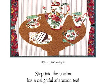 Cake and Tea Wall Quilt Pattern