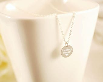 Necklace ~ Favorite Man ~ 925 silver