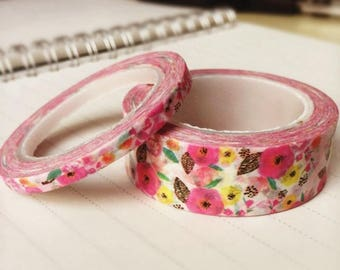 4 rolls of masking tape liberty 14.50 m each Washi tape roll