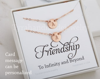 Double Layer initial necklace,Silver,gold,rose gold,sister necklace,mother daughter,mother of two,couple monograms,custom font,personalized