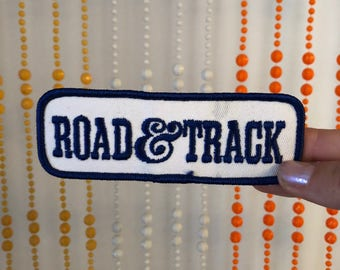 Vintage 'Road & Track' Patch