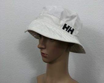 90's vintage helly hansen cotton bucket hat cap size 7