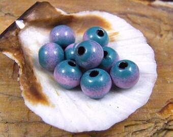 Enameled Copper Bead~Nadja~Bohemian~Boho~Enamel Beads