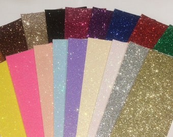 12x12 Glitter Card 220gsm Pack of 10 Sheets