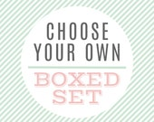 Choose Your Own Boxed Set of 8 - Note cards - Assorted Note Card Set