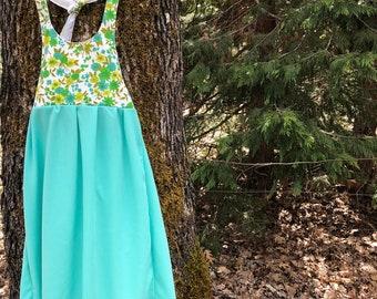 Woodland Princess maxi dress