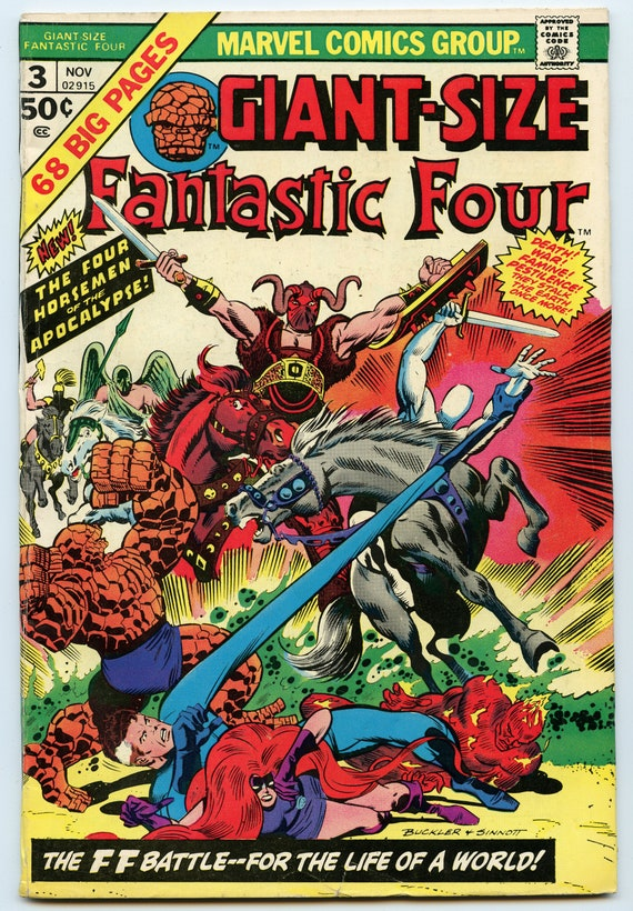 Giant-Size Fantastic Four 3 Nov 1974 VG (4.0)