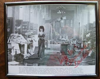 "Adrienne Barbeau   8""x 10"" photo, signed, framed   (#EV114)"