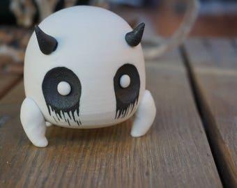 hand thrown, ceramic monster Art Toy