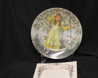 John Mc Clleland Reco Little Bo Peep Collector Plate 1983