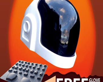 DP Helmet Guymanuel replica Visor and Free Glove Kit Included