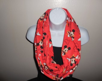Mickey Mouse Infinity Scarf