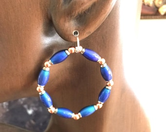 Hoop Earrings Color Changing Thermal Like Wow Collection#2