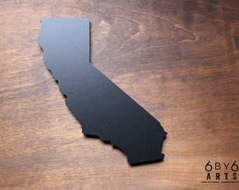 California State Chalkboard Magnet | Small Chalkboard | State Shapes | Gifts From Home | Southern California