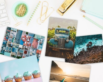 Postcard Set // For the love of teal