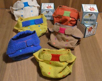 Washable wool diaper (cover)