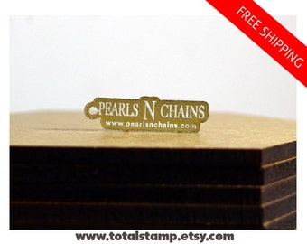 Custom Jewelry Tags - 100 Pcs - Acrylic Logo Tags - Jewelry Supplies - Name Tags - Logo Tags - Your Logo Shape