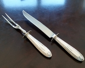 Manchester Stainless Steel Carving Knife and Fork Set