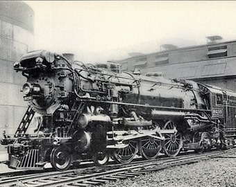 c.1920s US Railway, New York Central, STEAM LOCOMOTIVE #9235 ~ Outstanding, Near Mint Condition.