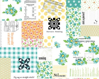 Moda-Sew Sew by Chloe's Closet Patchwork 33180-11 in Fruity