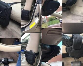 Universal Vehicle Mount Car Truck gun Pistol Holster Conceal Ambidextrous
