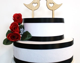 Love Bird Cake Toppers, love bird wedding, wood cake topper, acrylic cake topper, love birds, valentine's day
