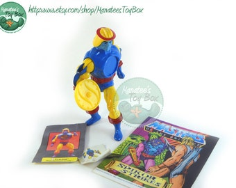 CLEARANCE He Man Action Figure: Sy Klone MOTU 80s Toy Mattel