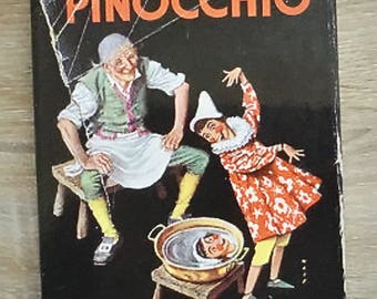 Vintage The ADVENTURES OF PINOCCHIO - Collodi, Carlo. Illus. by Watson, A.H. - 1957