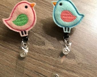 Love Bird Badge Reel