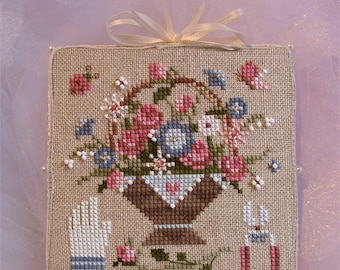 INSTANT DOWNLOAD Cross Stitch Chart for Brooke's Books Bride's Tree ornament: 3 of 12 Wishes