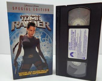 Tomb Raider VHS Tape
