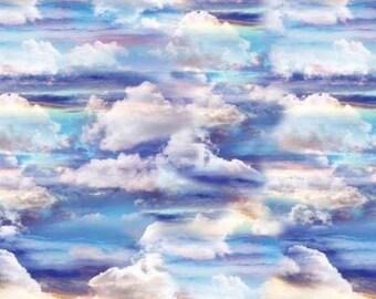 Heaven Sent Blue Sky Multiple 857099B from Benartex by the yard