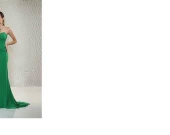 Xcite Prom 30545 Jersey Illusion High Slit Dress